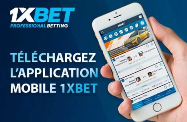 Spécificités de l'application mobile de l'agence de bookmakers 1xBet